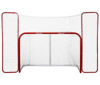 Ворота BAUER HOCKEY GOAL WITH BACKSTOP 6' X 4'