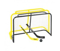 Набор для мини-хоккея REEBOK CROSBY STEEL MINI HOCKEY (2 ворот, 2 клюшки, мячик)