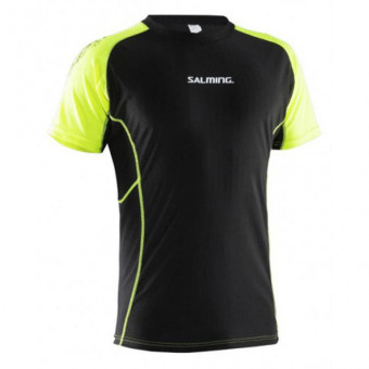 Футболка Salming Jersey Rubber компр. с дл. рукавом