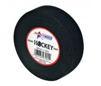 Лента для крюка SPORTSTAPE Cloth Hockey Tape BLACK (24мм x 18м)